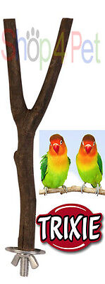 TRIXIE Natural Living Y Shaped Perch - BUDGIE, CANARY or SMALL BIRDS