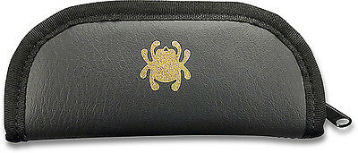 """Spyderco Travel Case C12C Large Black Mock Leather, 3"""" x 7"""" - Great for Knives +"""
