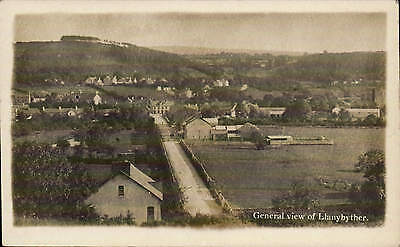 Llanybyther. General View.