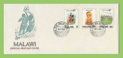 Malawi 1982 World Cup Football Championship set First Day Cover