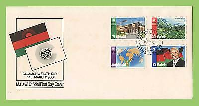 Malawi 1983 Commonwealth Day set First Day Cover