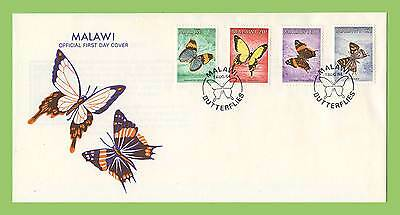 Malawi 1984 Butterflies set First Day Cover