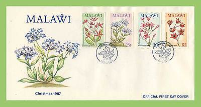 Malawi 1987 Christmas. Wild Flowers First Day Cover