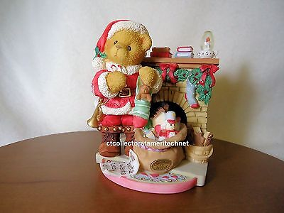 Cherished Teddies Santa Series 1999 Sanford LE Used No Box SIGNED