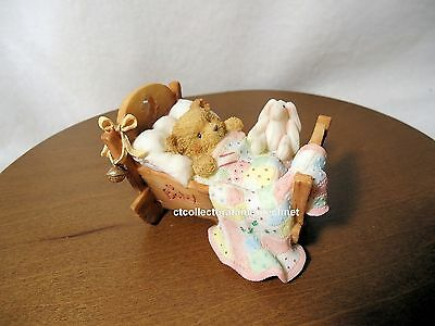 Cherished Teddies Cradled With Love 1993  NIB