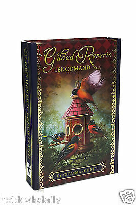 New Gilded Reverie Lenormand Oracle Cards Deck Ciro Marchetti Fortune Telling