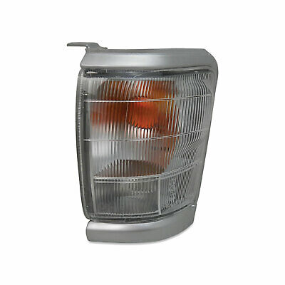 Toyota Hilux 2WD 97-01 Left Front Corner Park / Indicator Light Silver Surround