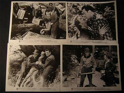 1937 George Brent Gods Country And The Woman 8 MOVIE PHOTO LOT 329L