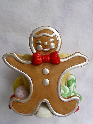 PARTYLITE GINGERBREAD MAN VOTIVE CANDLE HOLDER...NIP
