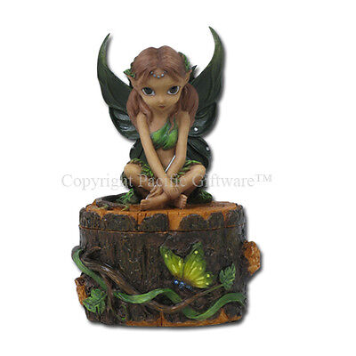 TRIBAL FAERY Fairy Jewelry Trinket Box Jasmine Becket-Griffith Strangeling