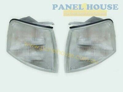 Corner Indicator Lights PAIR Clear fits Ford Falcon EA EB ED