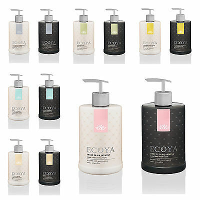 Ecoya- Hand & Body Wash + Hand & Body Lotion- Choose Fragrance- NEW- 500ml each