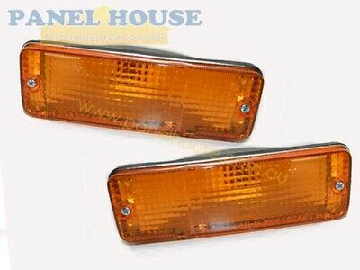 Indicator Light PAIR Front Bar Fits Toyota Corolla AE80 1985-1986 RH+LH