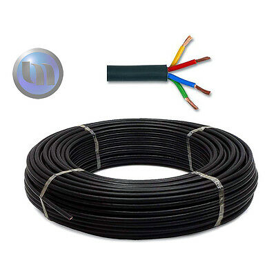 LED Pool Light Cable - RGB 4 Core Cable High Quality - Price Per 1m