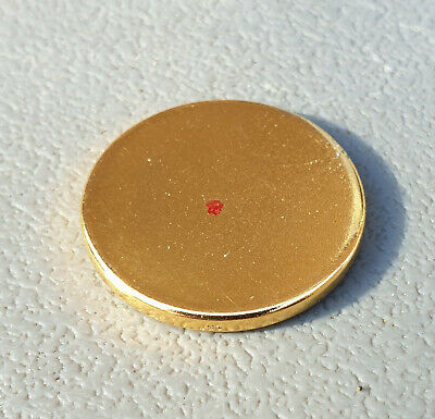 Magnet Therapy. Strong N42 Magnets Any use 20mm x 2mmA.Gold Plated