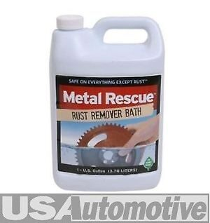 """Metal Rescue Bath, Rust Remover Treatment- """"Safe On Everything Except Rust"""""""