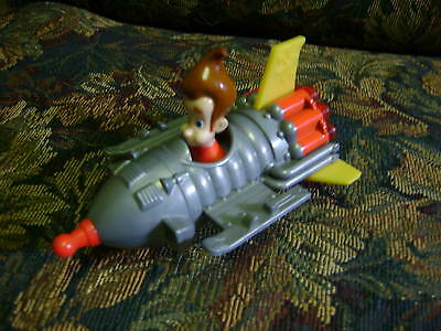 JIMMY NEUTRON  DOLL IN ROCKET SHIP     Collectible