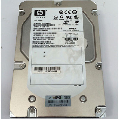 20x HP 146Gb 15K SAS Hard Drives