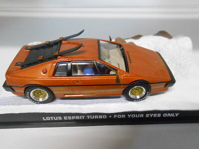 007 JAMES BOND, LOTUS ESPRIT TURBO FOR YOUR EYES ONLY, FABRI 1/43