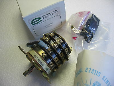 Caterpillar 4P-9988  - 8 Position 4 Section Rotary Electro Switch 31904QA 600v