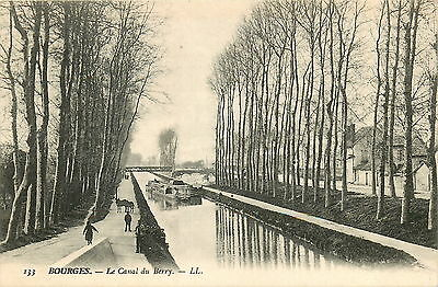 18* BOURGES    canal du berry