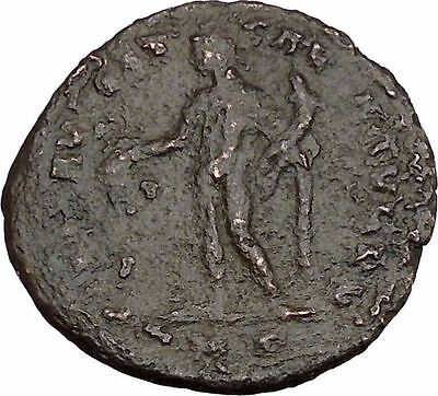 Constantius I 'Chlorus' Constantine the Great Father Ancient Roman Coin i43042