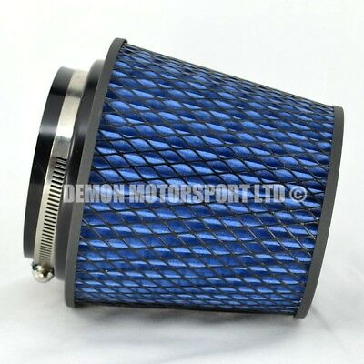 "Performance Air Filter Blue For Induction Kit 4"" Inch or Select Size (51781)"