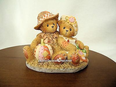 Cherished Teddies Dennis and Barb  2001 NIB