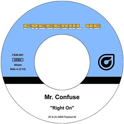"""Mr. Confuse - Right On / Low Life 7"""""""