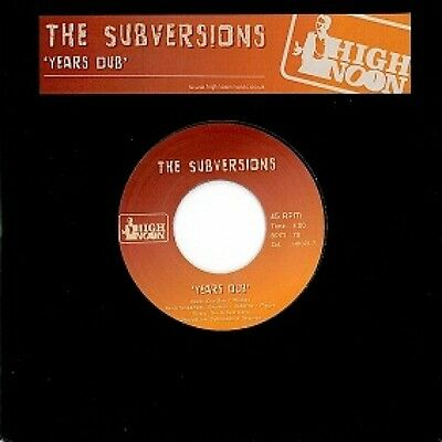 The Subversions - Years Dub / Perfume 7""