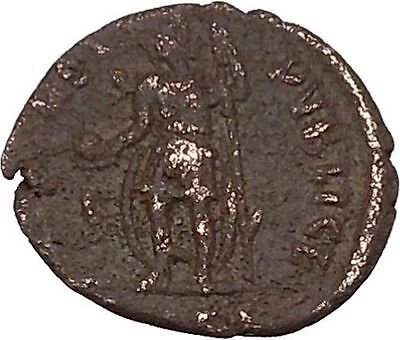 Julian II as Caesar with globe & spear 355AD RARE Ancient Roman Coin i42678