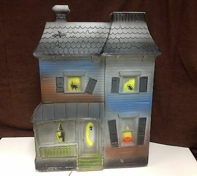 Vintage Haunted House Blow Mold by Don Featherstone Blowmold Halloween RARE