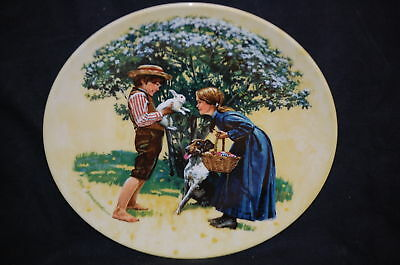 COLLECTOR PLATE KNOWLES EASTER AMERICAN HOLIDAY DON SPAULDING PAINTING KNOWLES