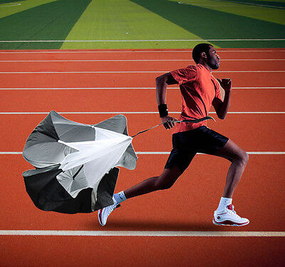"48"" Speed Training Parachute Running Football Chute Strength Resistance Sports"