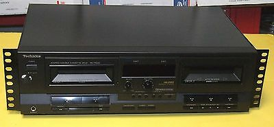 TECHNICS RS-TR232 STEREO DOUBLE CASSETTE PLAYER VINTAGE WORKS GOOD