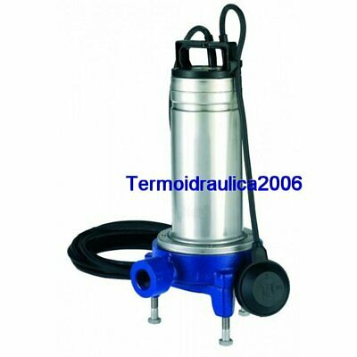 Lowara DOMO Submersible Pump Dirty Water DOMOGRI11 Grinder 1,1kW 1x230V 50Hz