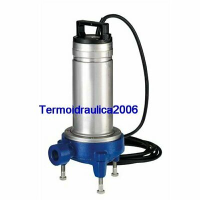 Lowara DOMO Submersible Pump Dirty Water DOMOGRI11 SG Grinder 1,1kW 230V 50Hz