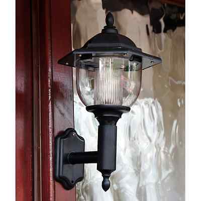 Solar Power Led Victorian  Wall Light Lamp Lantern Garden Patio Door Slwall2