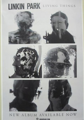 LINKIN PARK 2012 LIVING THINGS promotional poster ~NEW & MINT~!