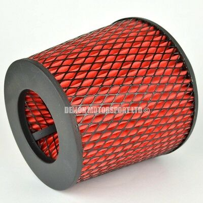 """CLEARANCE Air Filter Red For Induction Kit 3.25"""" Inch or Select Size (35918)"""