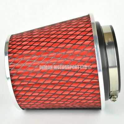 "CLEARANCE Air Filter Red For Induction Kit 3.15"" Inch or Select Size (59893)"