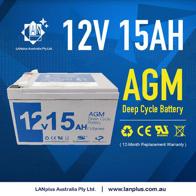 12V 15AH AGM Rechargeable Battery Electric Mobility scooter same size 12AH 14AH