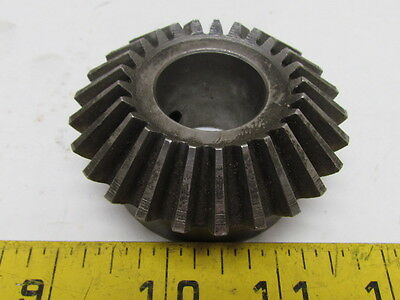 """Miter Gear 25 Tooth 10 Pitch 1"""" Bore 2-1/2"""" Pitch Dia OD 20 Deg Pressure Angle"""
