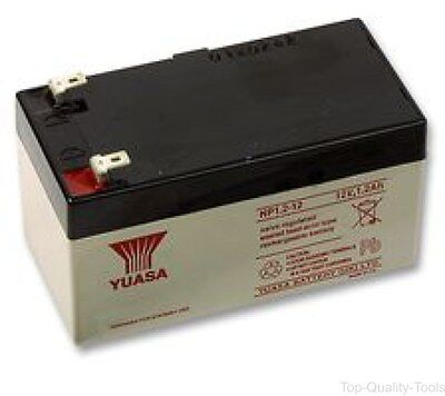 Rechargeable Battery, NP Series, Valve Regulated, Single Cell, 12 V, Lead Acid,