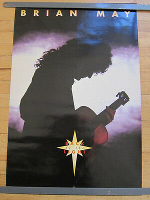 BRIAN MAY Back to the light Promo poster ex Queen