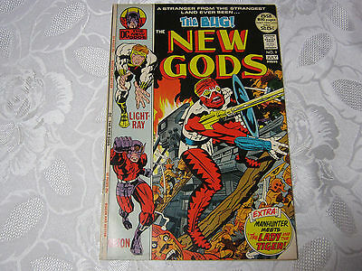 The New Gods The Bug! No.9  July  Dc Comic Vintage    T*
