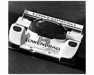 1986 Porsche 962 Lowenbrau Race Car IMSA Photo Poster Al Holbert zca1275