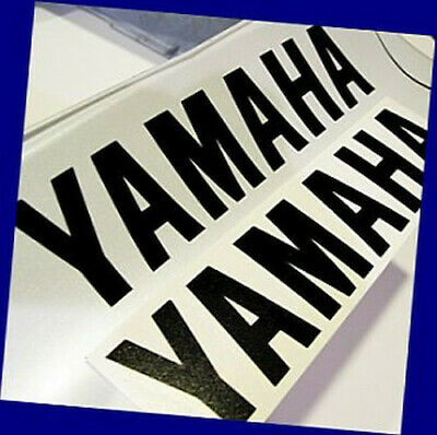 "WHITE Yamaha 13/"" stickers fz decals srx keyboard r 1 6 m yzf 600 8 waverunner 3"