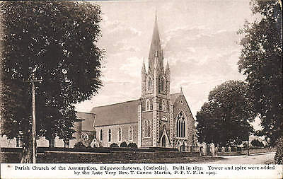 Edgeworthstown, County Longford. Parish Church by Quinn, Edgeworthstown.