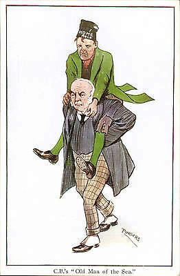 Irish Political. Campbell Bannerman's Old Man of the Sea by Pingers / Faulkner.